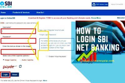 How to login SBI Net Banking