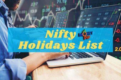 Nifty Holidays List