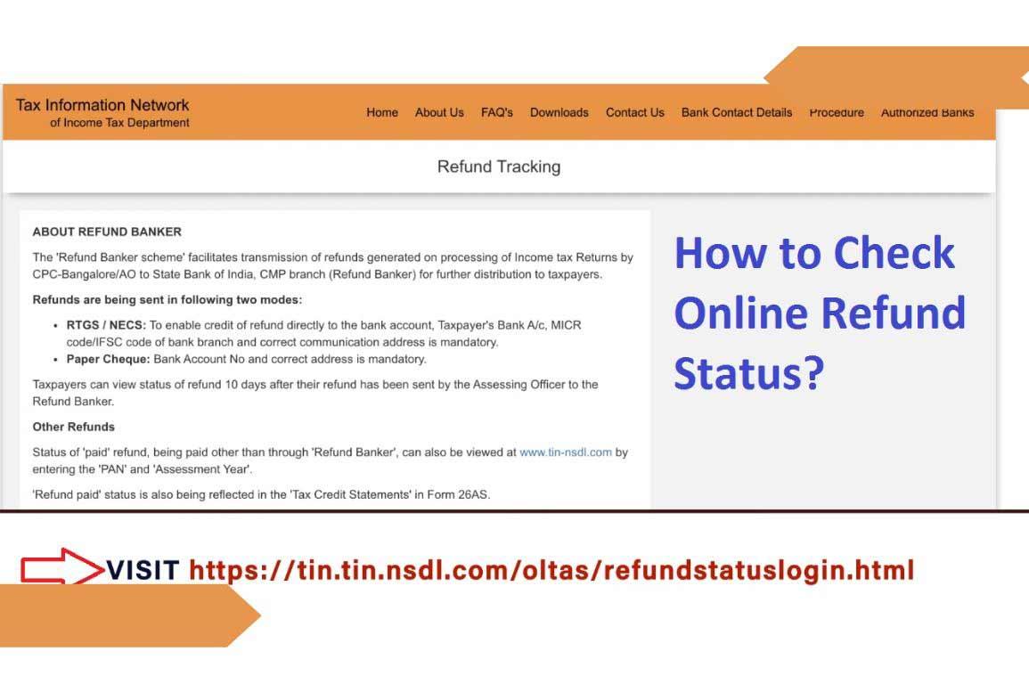Online Refund Status