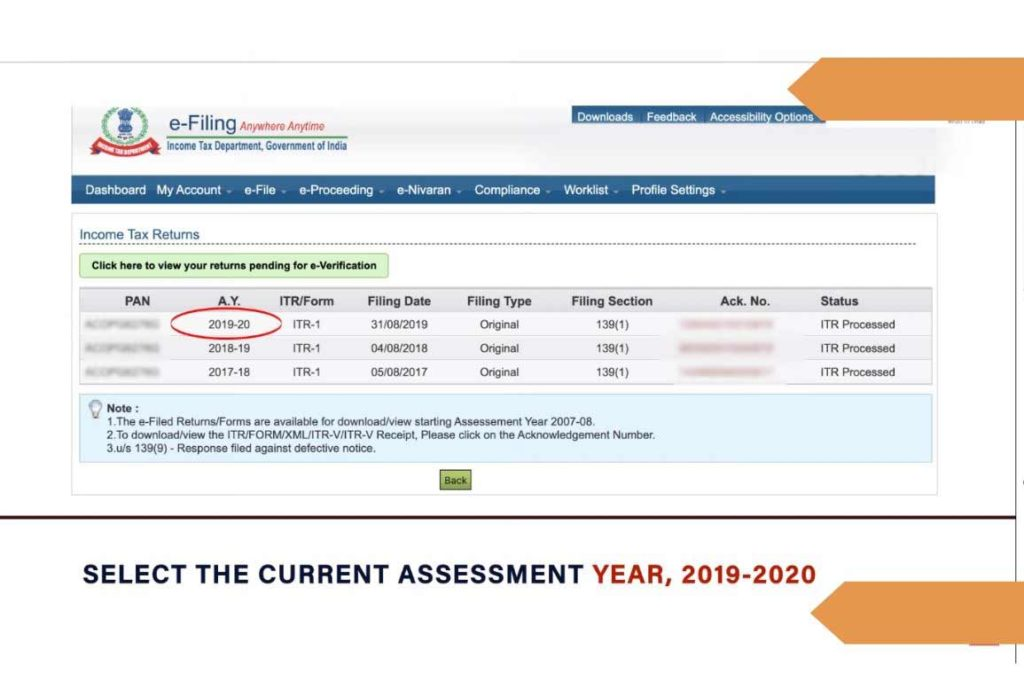 Check Online Tax Refund Status