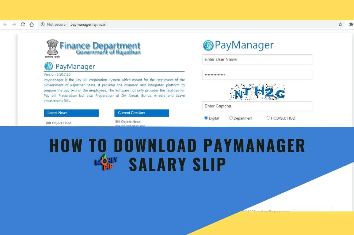 How to Download Paymanager Salary Slip