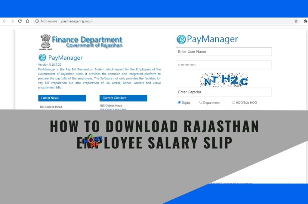 How to Download Rajasthan Employee Salary Slip