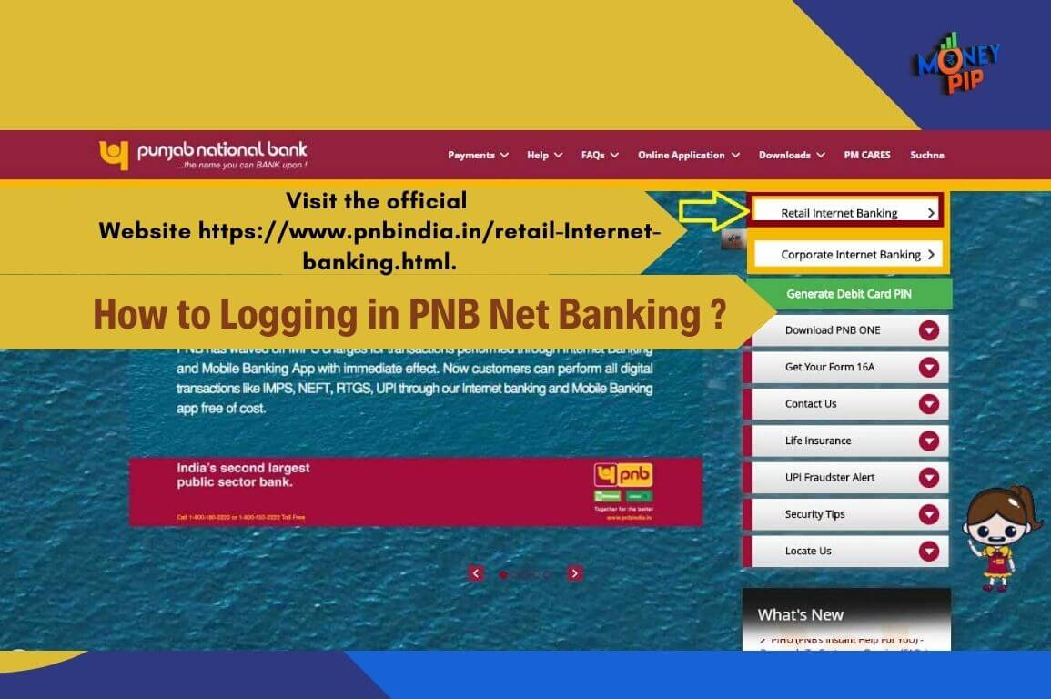 How to Logging in PNB Net Banking