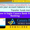 How to login Canara Bank Net Banking