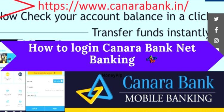 How to login Canara Bank Net Banking