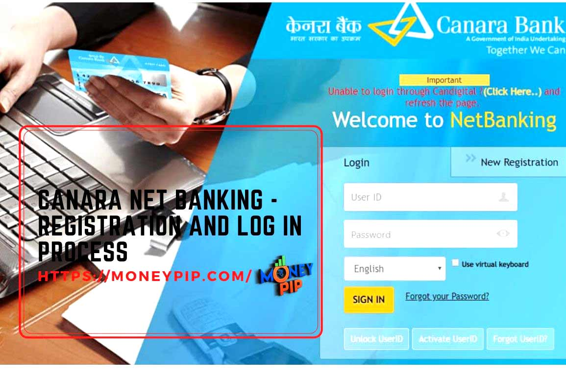 Canara Net Banking - Registration and Log In Process