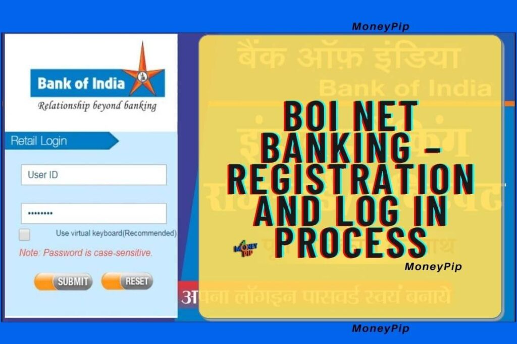 BOI NET Banking Register