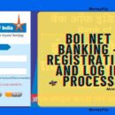 BOI NET Banking Register