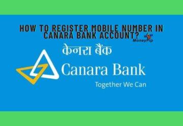 Register Mobile Number In Canara Bank