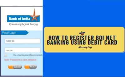 How to Register BOI Net Banking using Debit Card