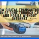 digital transactions without internet