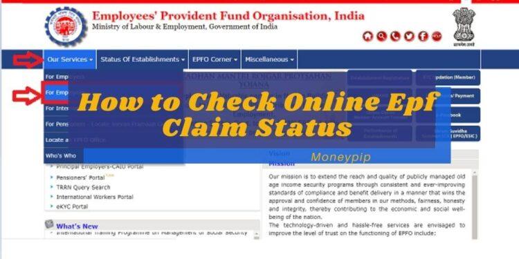 Epf Claim Status