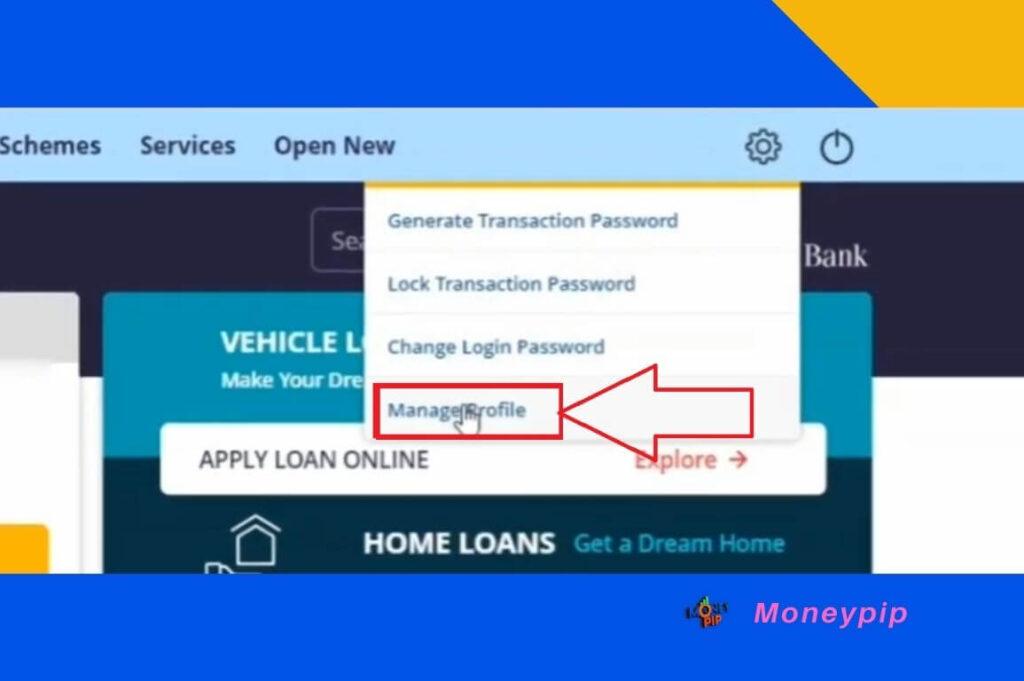 Online Pan Card Update in Canara Bank Account