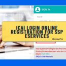 ICAI Login Online Registration for SSP eServices