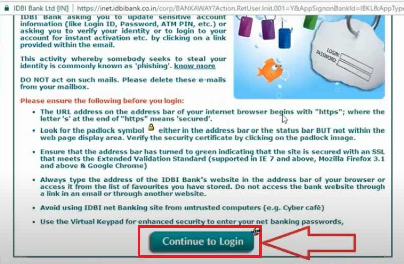 IDBI Internet Banking2