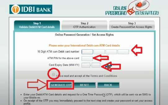 IDBI Internet Banking6
