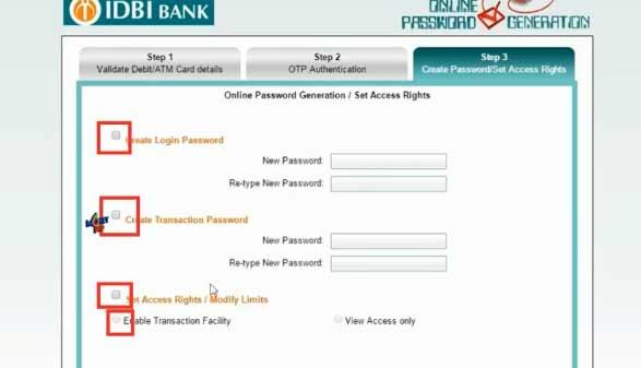 IDBI Internet Banking8