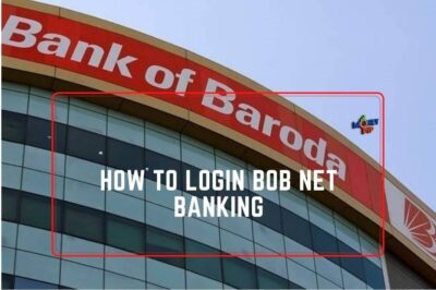 How to login BOB Net Banking