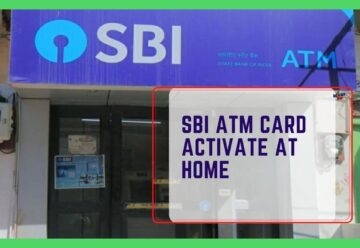 SBI ATM Card Activate At Home