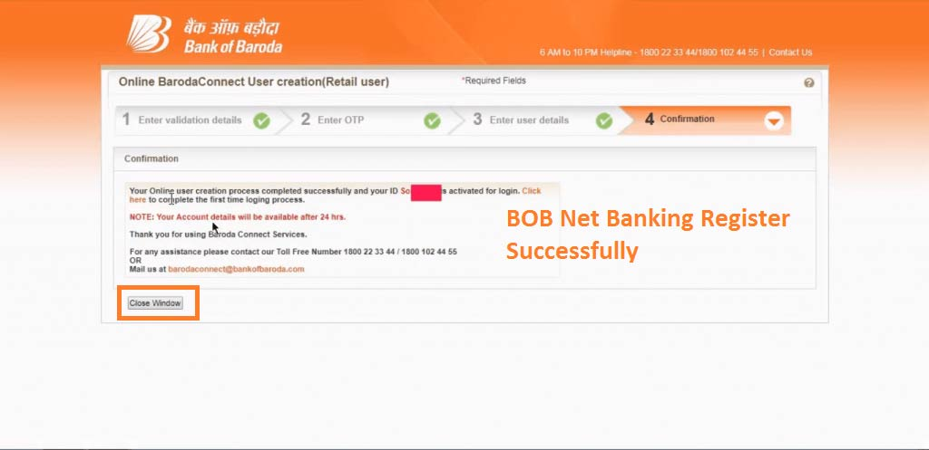 BOB Net Banking 9