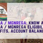 Know About NREGA / MGNREGA