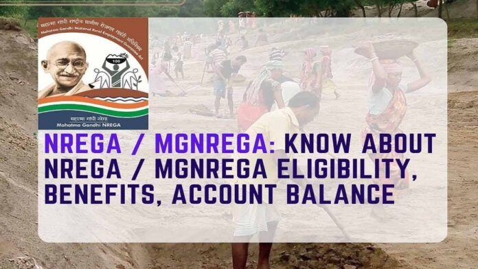 Know About NREGA / MGNREGA