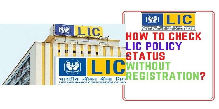How to Check Lic Policy Status Without Registration?