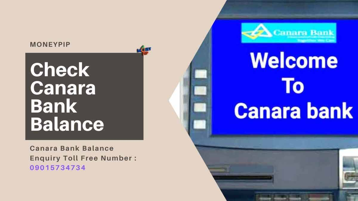 Canara Bank Balance