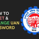 How to reset uan password