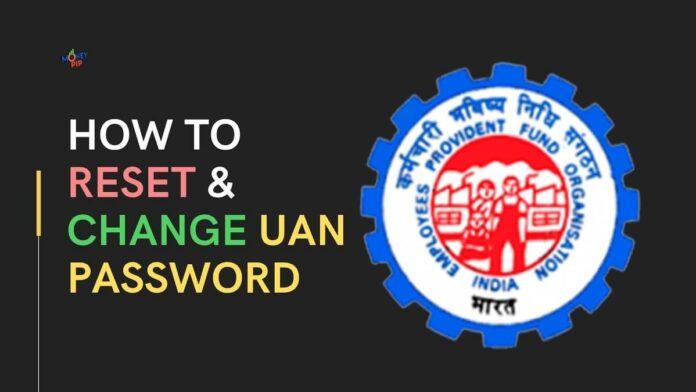How to reset uan password