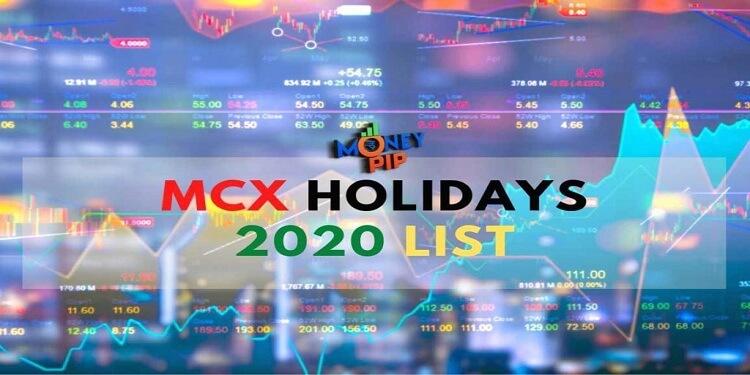 MCX Holidays 2020 List, MCX Holidays 2020, Trading Holidays 2020,