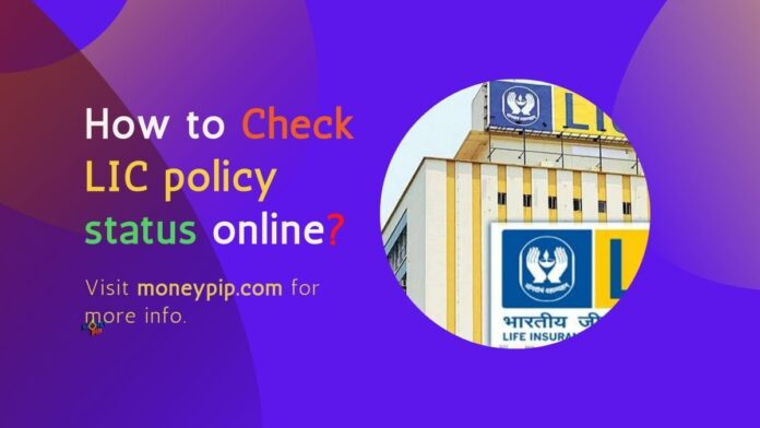 How to Check LIC policy status online?