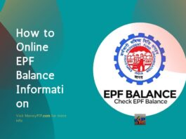 How to Online EPF Balance Information