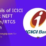 Details of ICICI Bank NEFT form