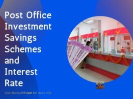 Post Office Investment Savings Schemes and Interest Rate