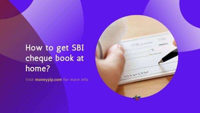 SBI cheque book