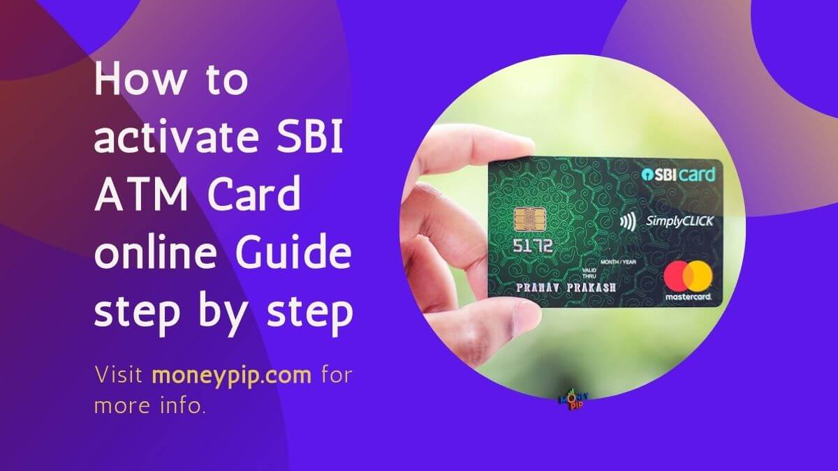 How to activate SBI ATM Card online