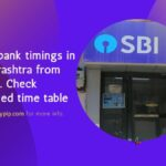 sbi bank timings