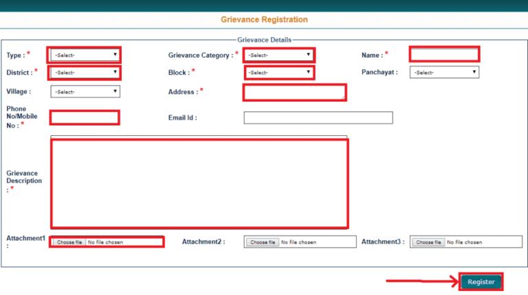 Bihar-Ration-Card-Grievance-Registration 17