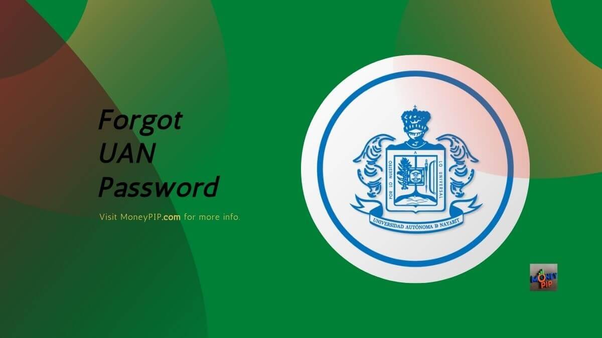 Forgot UAN Password