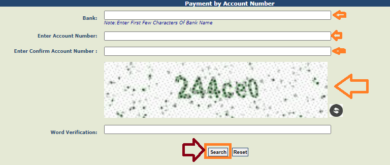 Know Your PFMS Payments by Account Number