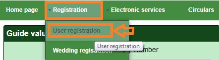 tnreginet portal registration