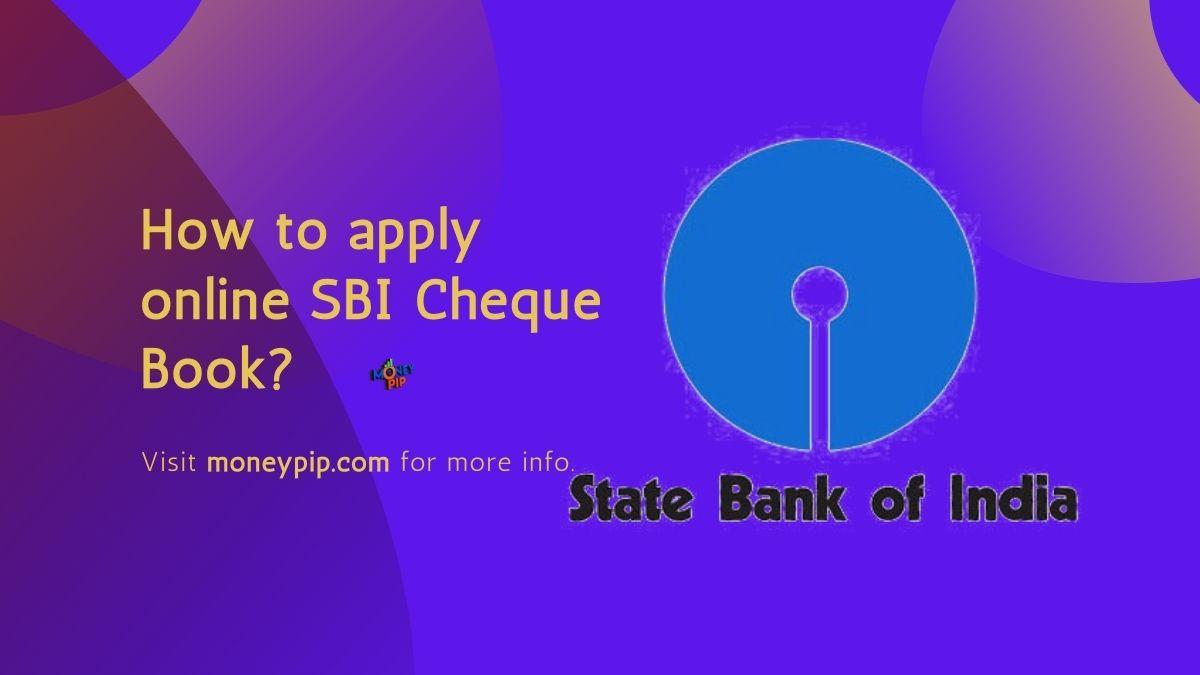 online SBI Cheque Book