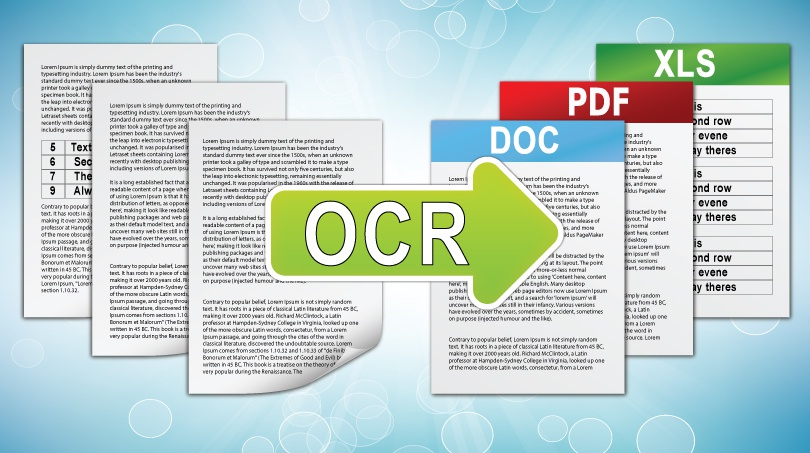 Services to OCR PDF